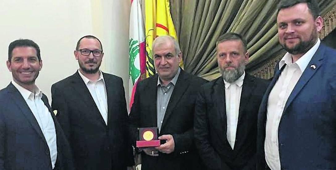 Poseł z naszego regionu na salonach Hezbollahu