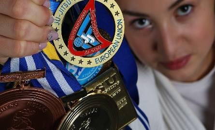 Paulina Szumska, mistrzyni Europy w ju jitsu i Młodzieżowy Sportowiec Roku 2016 w Rybniku