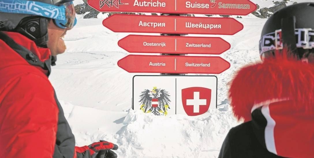 Austriacy mają wszystko porządnie oznakowane, więc nie jest trudno wybrać najdogodniejszą trasę