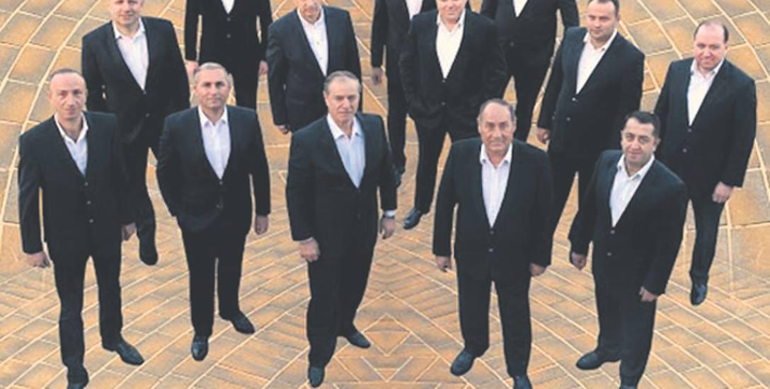 Narodowy Chór Adżarii, czyli goście z Gruzji. Wystąpią tuż przed koncertami w Berlinie i wykonają gruzińskie pieśni sakralne