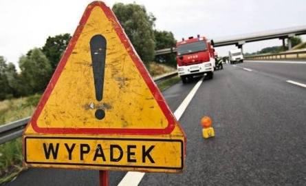 Wypadek pod Żninem. 5 osób poszkodowanych