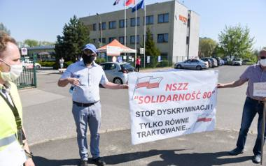 12.05.2021 torun protest egzaminatorow word  fot. jacek smarz / polska press