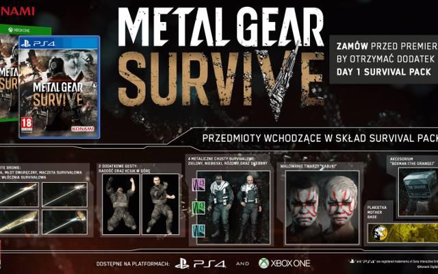 Metal Gear Survive: Premiera w lutym
