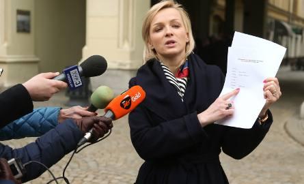 Radna Obara-Kowalska: To pan prezydent zrezygnował ze współpracy ze mną. A zrobił to w bardzo nieelegancki,  jak na dobrze wychowanego człowieka, sp
