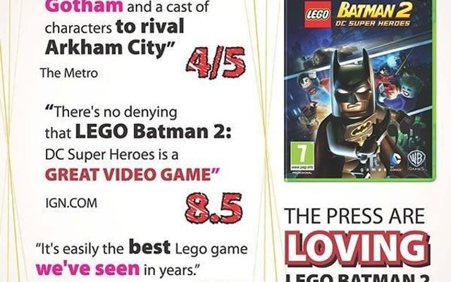 LEGO Batman 2: DC Super Heroes. Cała prawda o klockach