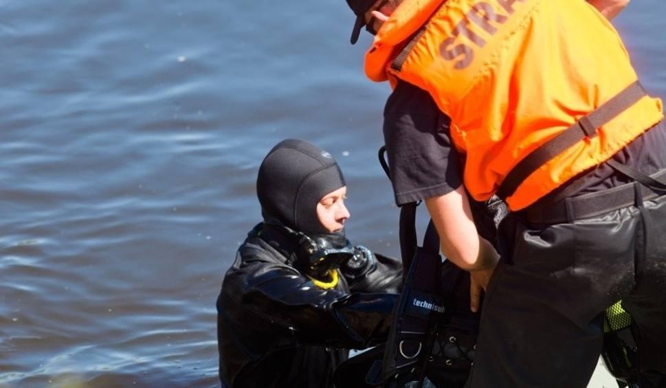 Film do artykułu: Tragedia nad zalewem w Siemiatyczach. Utonął wędkarz