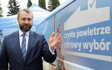 """Program """"Czyste powietrze"""" jest naszym priorytetem - mówi Tomasz Bednarek, prezes WFOŚiGW w Katowicach"""