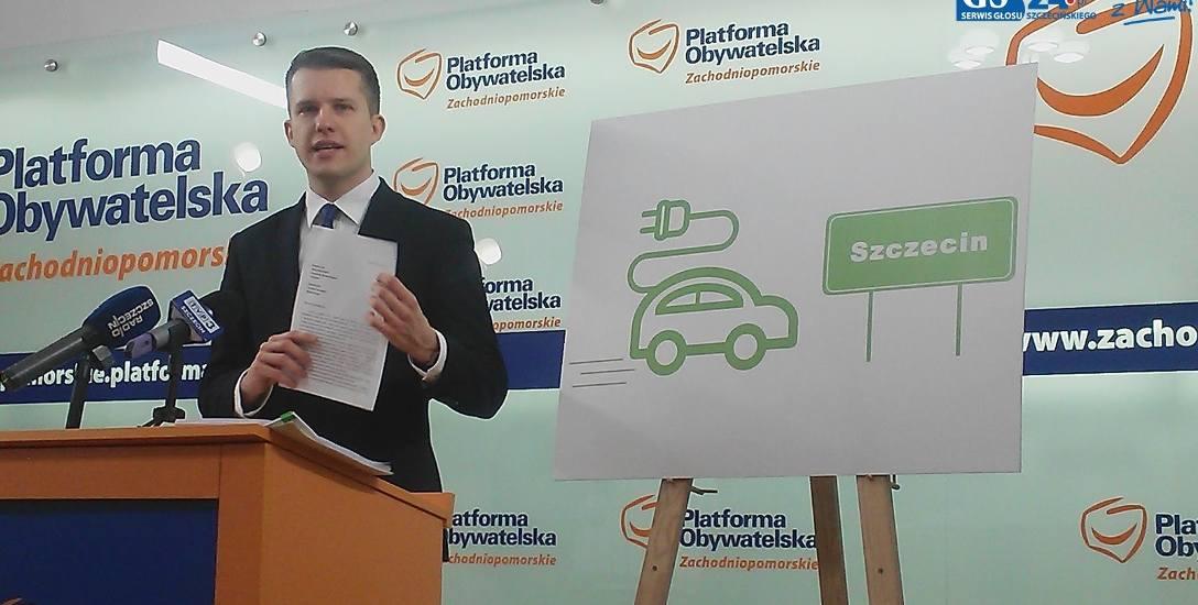 Szczecin centrum aut elektrycznych?