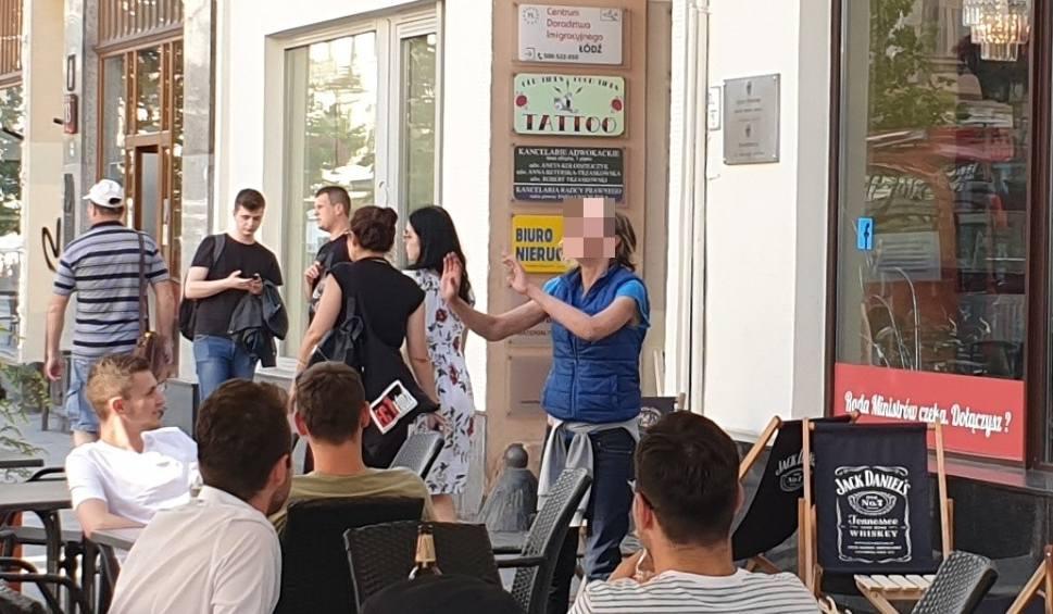 Film do artykułu: Żule na Piotrkowskiej znowu w akcji! Musiała interweniować prezydent Zdanowska! ZDJĘCIA