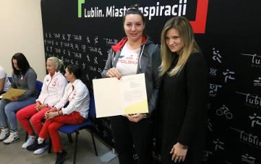 Paulina Guba otrzymała wczoraj list gratulacyjny od władz miasta