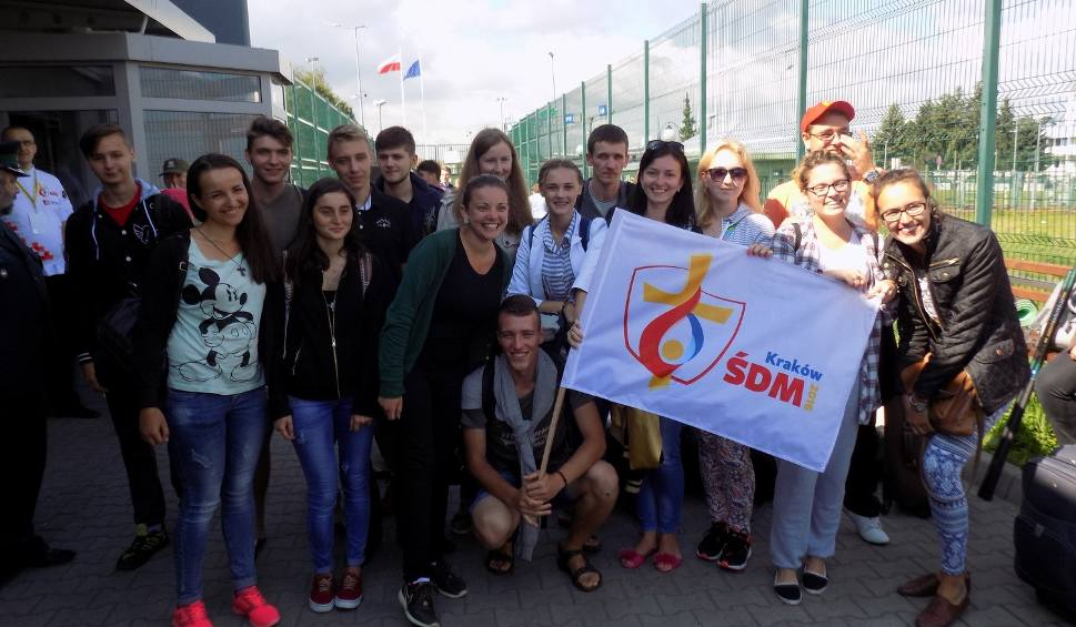 Film do artykułu: Pielgrzymi z Ukrainy zmierzają na Światowe Dni Młodzieży [WIDEO]