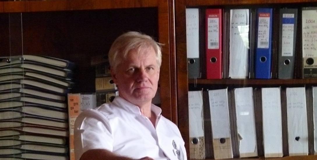 Andrzej Grabowski wiosną został wicedyrektorem ZOZ w Łowiczu
