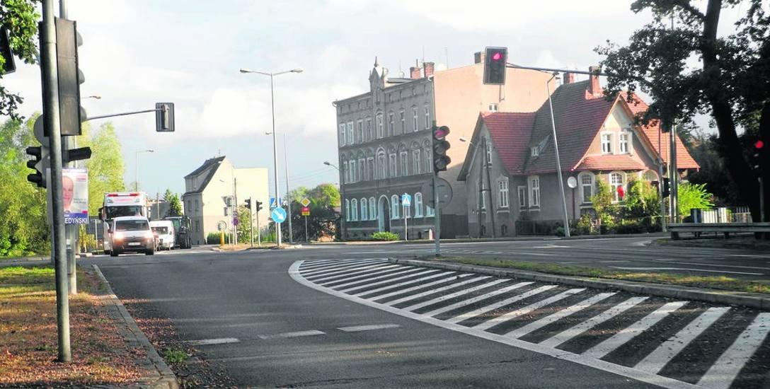 Jedno z rond, które wybuduje GDDKiA, powstanie u zbiegu Obwodnicy Staromiejskiej z ulicami Bydgoską i Skłodowskiej-Curie. Zostaną tu też zbudowane chodniki