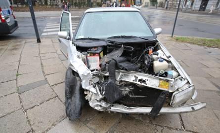 Wypadek na Gdańskiej. Ranni