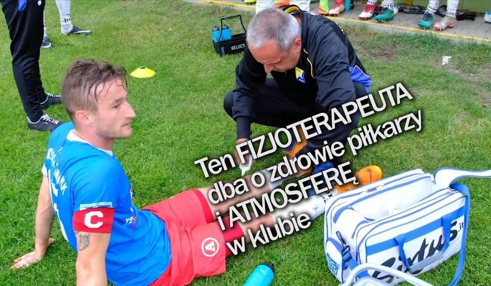 Film do artykułu: Regionalny Puchar Polski. Fizjoterapeuta, który dba o zdrowie i... atmosferę w klubie | Flesz Sportowy24 (odc. 5)