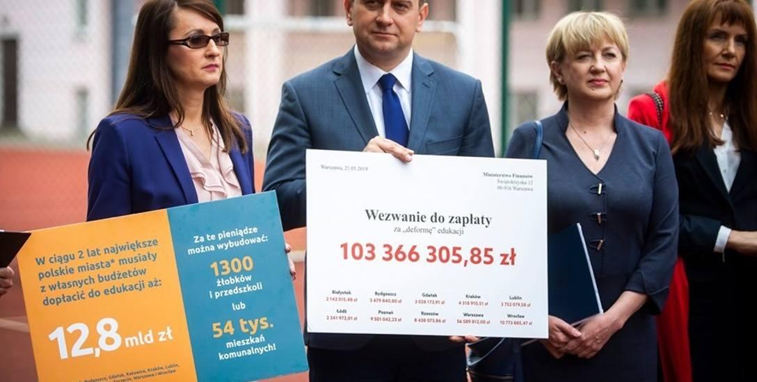 Bydgoszcz jest wśród 10 polskich miast, które żądają zwrotu kosztów poniesionych na reformę edukacji.