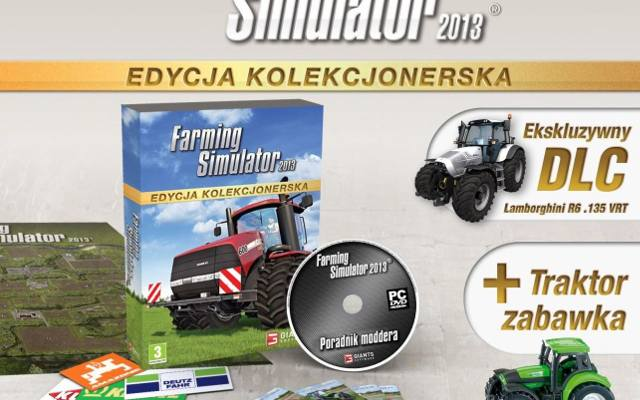 Farming Simulator 2013: Edycja kolekcjonerska z Lamborghini