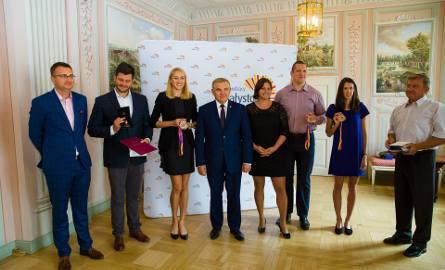Prezydent Białegostoku uhonorował podlaskich lekkoatletów