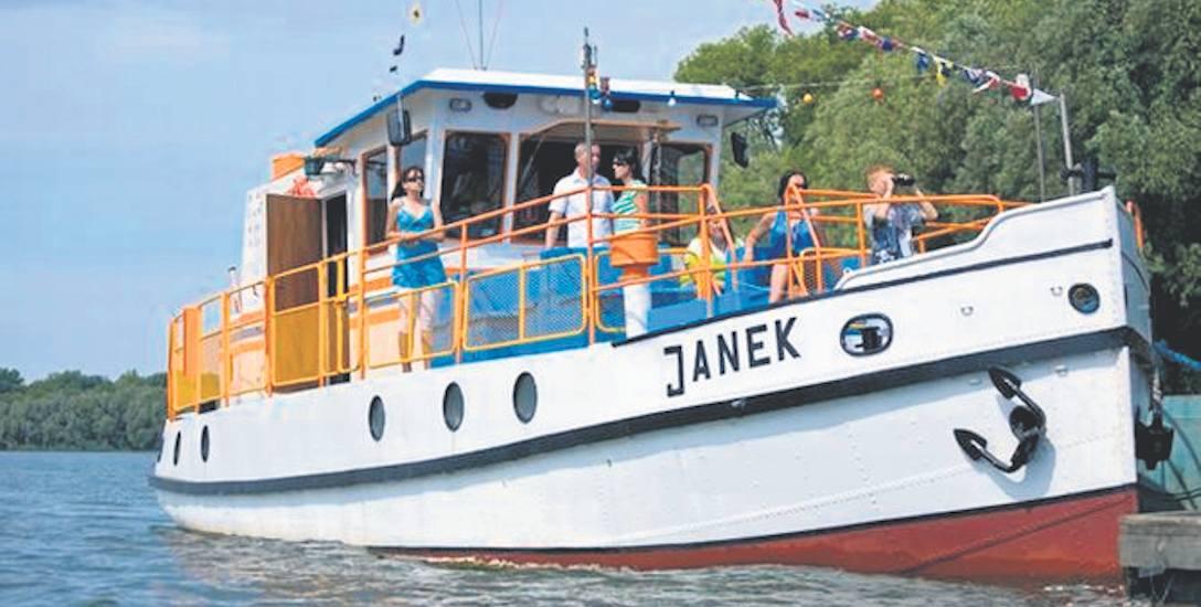 """Danek zmienił nazwę na Janek  i  """"odpłynął"""" na Kujawy."""