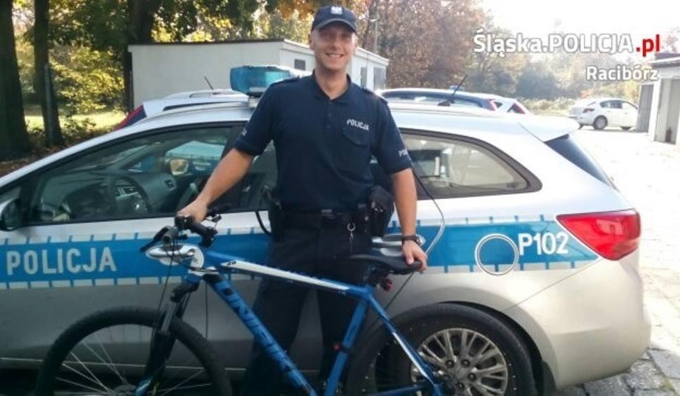 Film do artykułu: Złodziej roweru w Kużni Raciborskiej zatrzymany przez policję