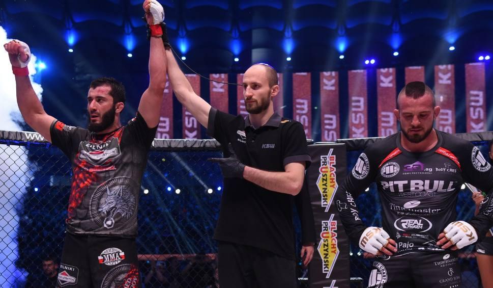 Film do artykułu: KSW Colosseum. Mamed Chalidow pokonał Borysa Mańkowskiego w walce wieczoru
