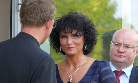 """Dyrektor """"Medyka"""" dr Aneta Bil-Wrońska ma powody do satysfakcji z powodu otwarcia nowej placówki."""