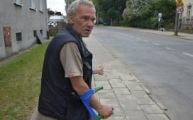 Dariusz Jóźko: Na Okrzei remont trwa na okrągło. Rozkopią coś, potem byle jak załatają. Ulica jest jak tor przeszkód.