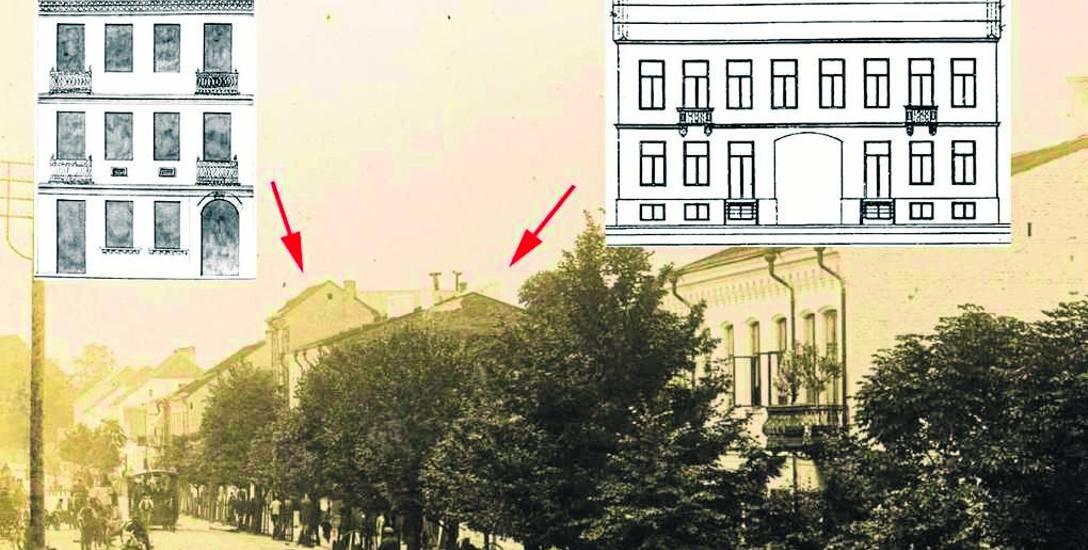 W 1895 r. stanął najwyższy w tym czasie budynek mieszkalny przy ul. Lipowej - trójkondygnacyjny dom Wincentego Żakiewicza, w którym właściciel uruchomił