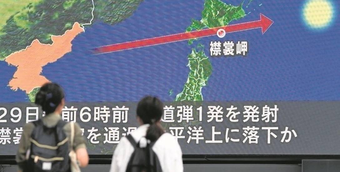 Władze Japonii apelowały do obywateli o gotowość do ewakuacji