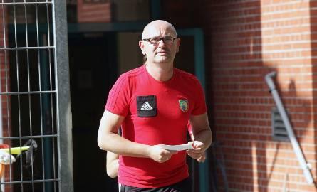 Dominik Nowak stoi przed sporym wyzwaniem - Miedź musi jak najszybciej zacząć zdobywać punkty