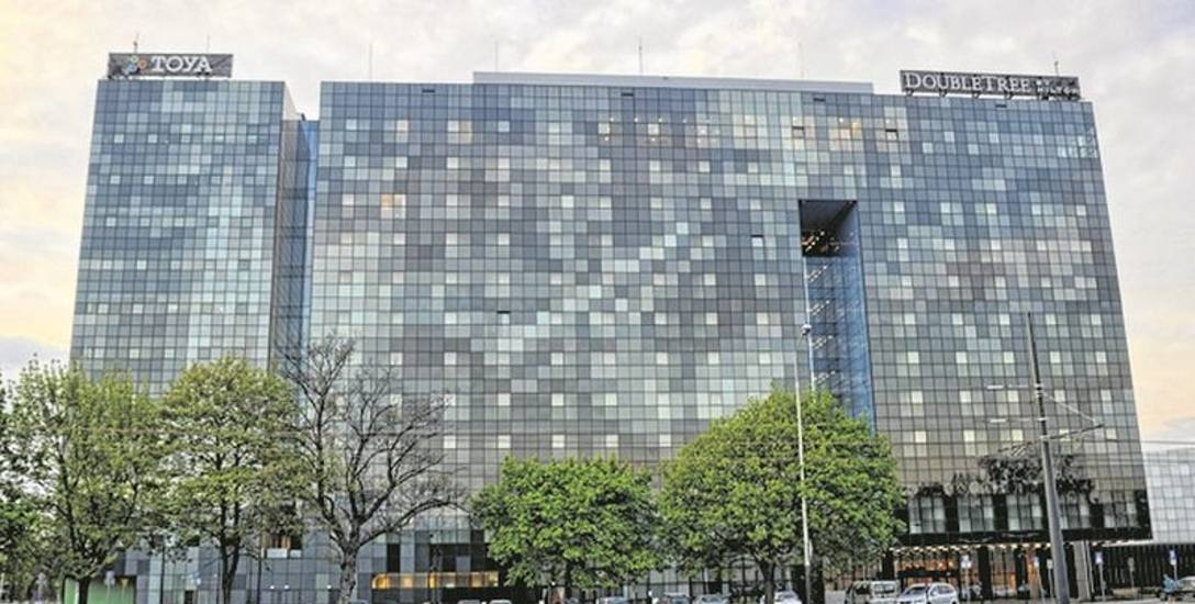 Hotel DoubleTree by Hilton przy ul. Łąkowej należy do najbardziej luksusowych w Łodzi