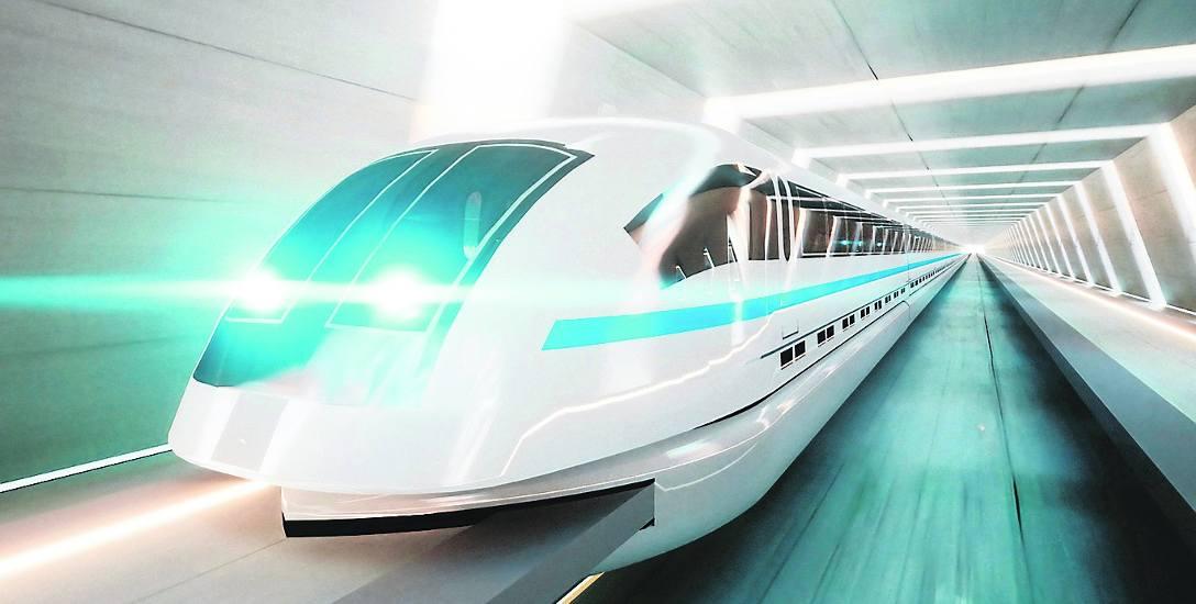 Czy taki szybki monotrail będzie się zatrzymywać w przyszłości w Czeladzi?