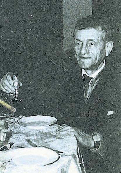 Jedyne zachowane zdjęcie Menachema Borensztajna pochodzi z lat 50., gdy Ślepy Maks miał już za sobą apogeum działalności w łódzkim półświatku