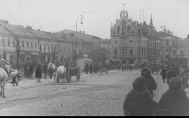 Rynek rzeszowski w 1937 roku