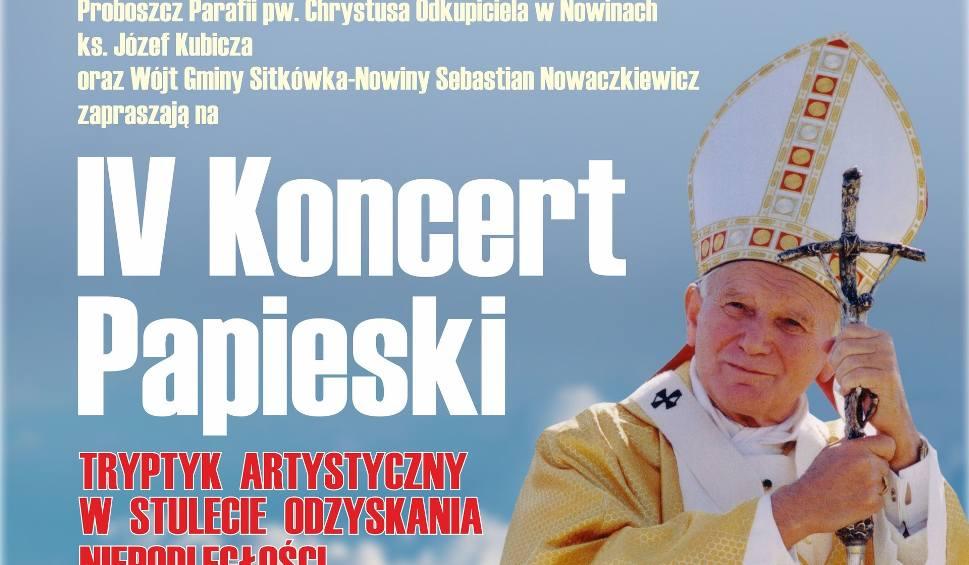 Film do artykułu: W niedzielę wyjątkowy Koncert Papieski w kościele w Nowinach