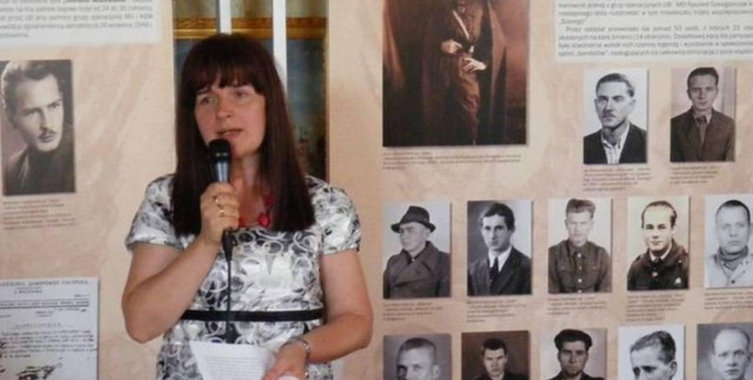 Dr Alicja Paczoska-Hauke, koordynator w Biurze Poszukiwań i Identyfikacji - Delegatura IPN w Bydgoszczy.