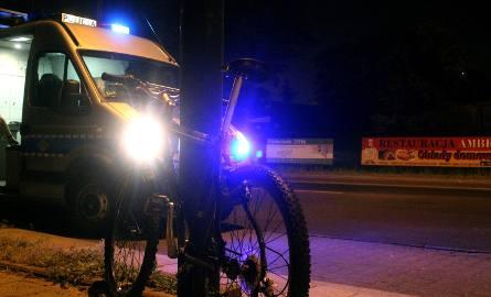 Pijany rowerzysta sprawcą wypadku na Retkińskiej w Łodzi