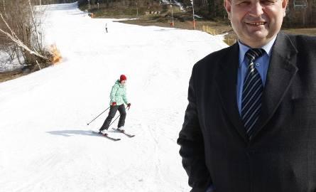 Wójt Mszany Dolnej Tadeusz Patalita: - Jeśli stworzymy odpowiednie warunki, Kasina może stać się stolicą polskiego narciarstwa.