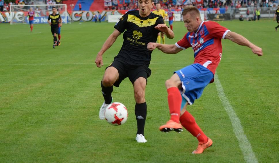 Film do artykułu: Raków Częstochowa - GKS Katowice 1:3. Prokić zapewnił gościom wygraną ZDJĘCIA