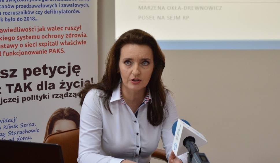 Film do artykułu: Posłanka Marzena Okła – Drewnowicz podsumowuje rok pracy. Trzy ważne punkty