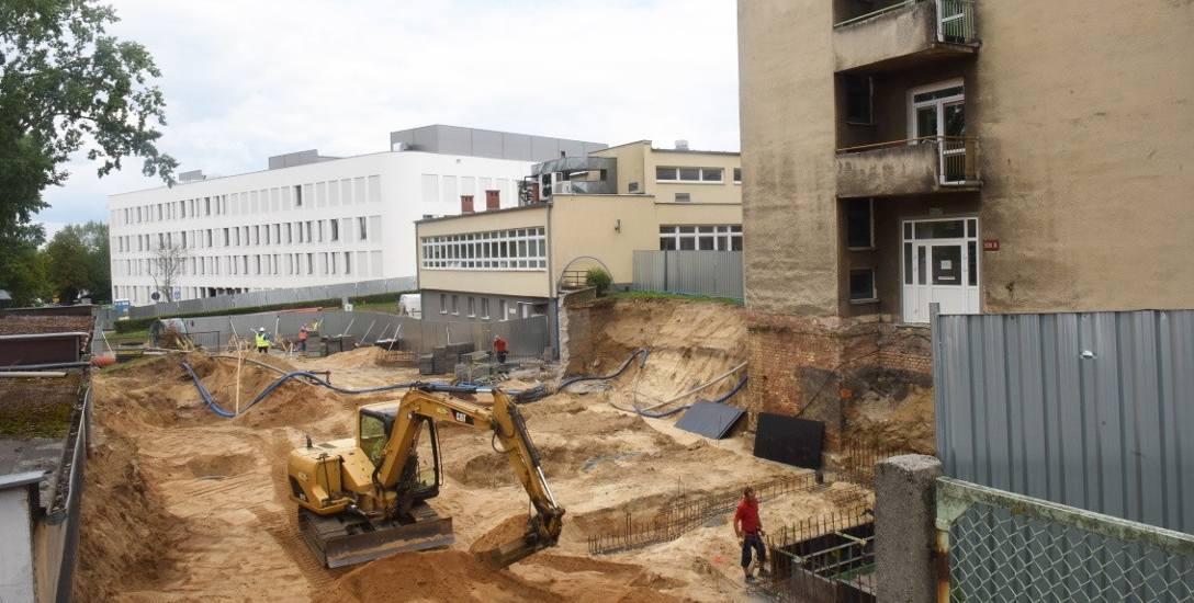 Rozpoczęła się budowa Ośrodka Terapii Tlenowej na terenie Szpitala Uniwersyteckiego w Zielonej Górze
