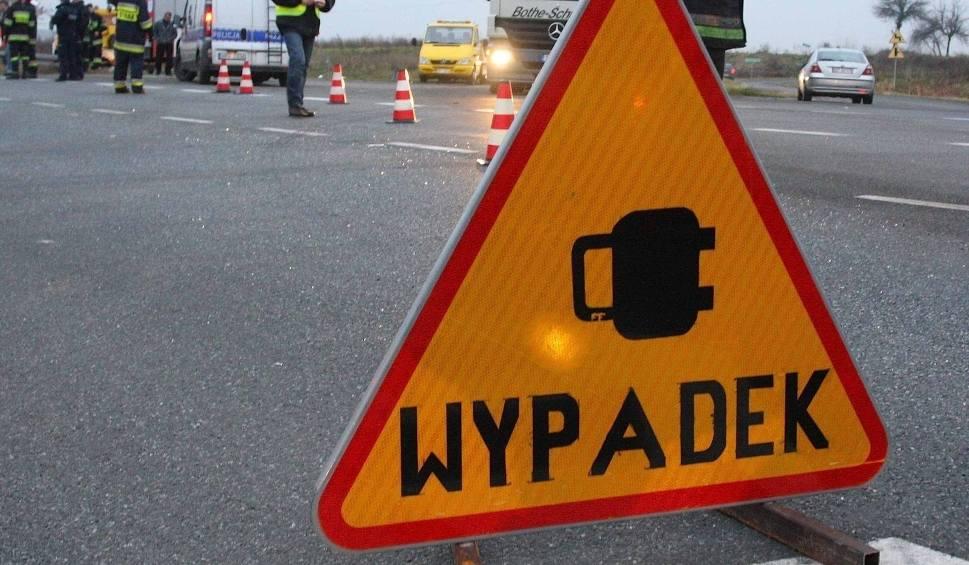 Film do artykułu: Pożar samochodu na obwodnicy Kielc