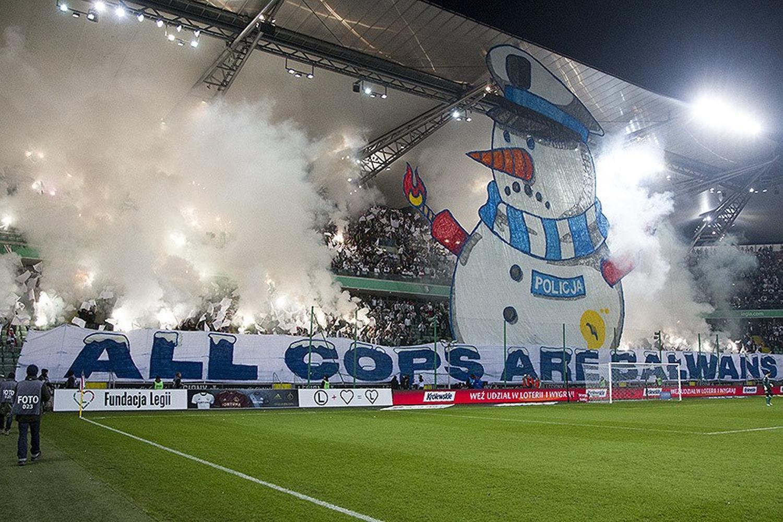 Kibice na meczu Legia Warszawa - Piast Gliwice. Zobaczcie zdjęcia!