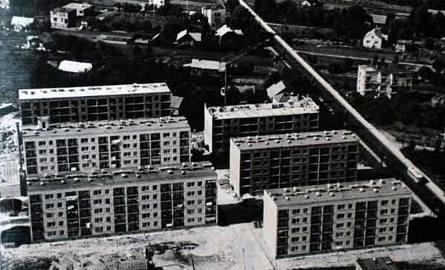 Rok 1969 – rusza budowa osiedla wzdłuż ul. Krakowskiej.