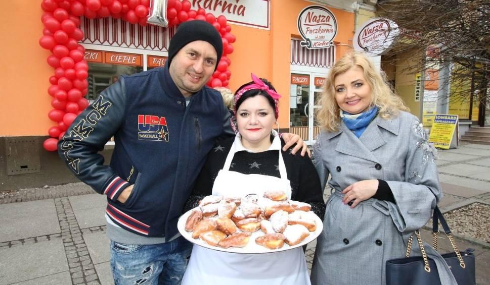 Film do artykułu: Norbi częstował pączkami w Kielcach. Jego lokal obchodzi pierwsze urodziny [WIDEO]