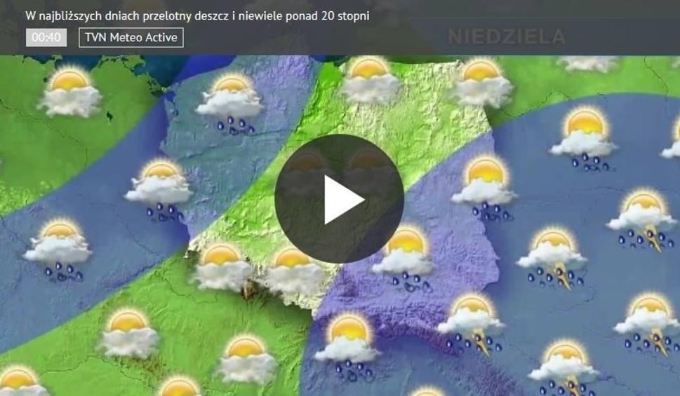 Film do artykułu: Prognoza pogody na 17 lipca [WIDEO]