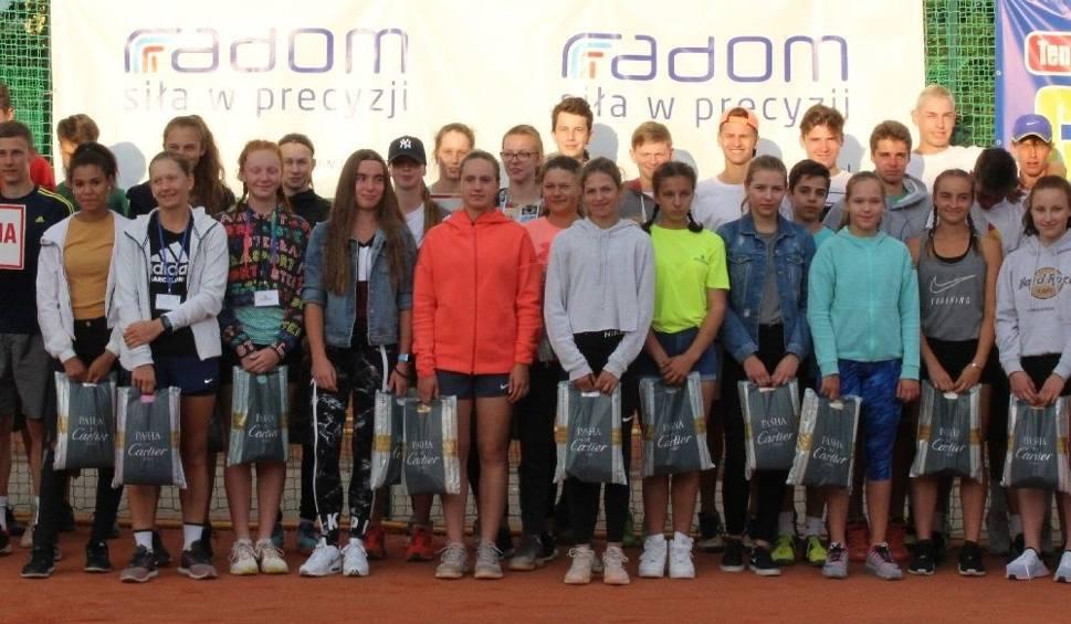 Film do artykułu: W Radomiu rozpoczął się międzynarodowy turniej kadetów w tenisie ziemnym