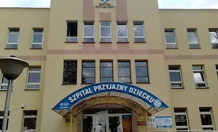 Do tego szpitala trafił poszkodowany.