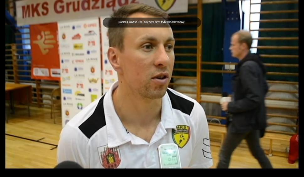 Film do artykułu: Jarosław Knopik po meczu z Wolsztyniakiem Wolsztyn [wideo]