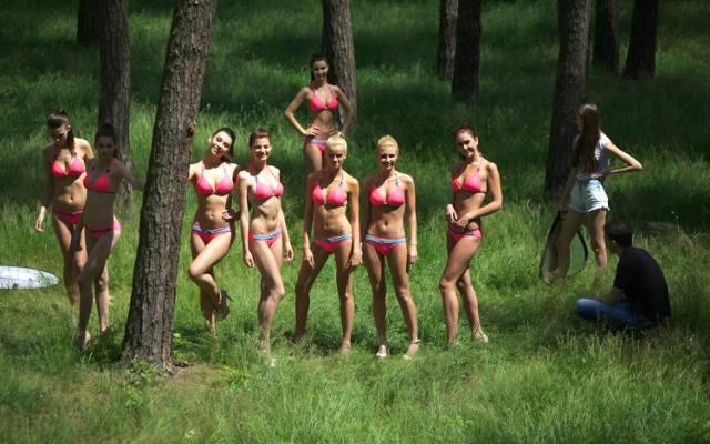 Gorące nagie modele kobiet